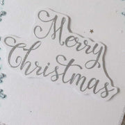 Stamps by Chloe Brush Merry Christmas Clear Stamp