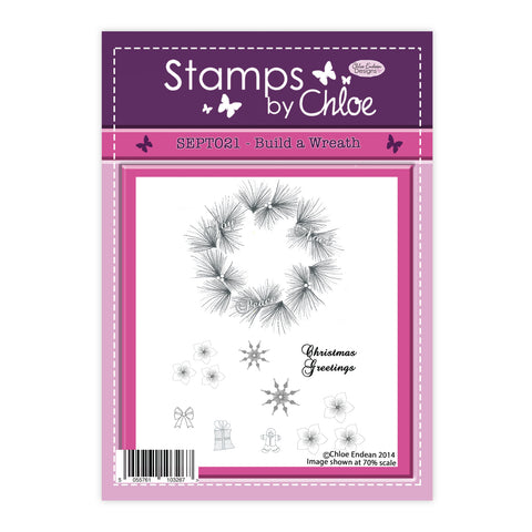 Stamps by Chloe Build a Wreath Clear Stamp Set