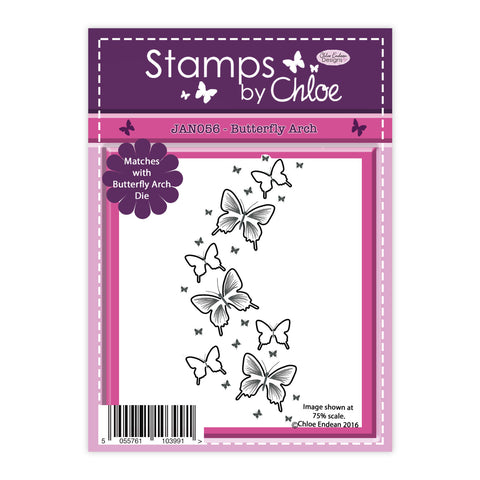 Stamps by Chloe Butterfly Arch Clear Stamp