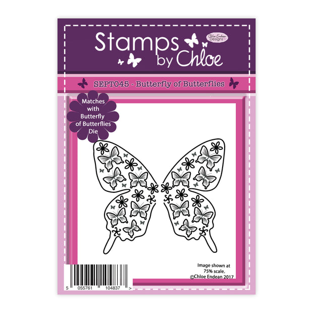 Stamps by Chloe Butterfly of Butterflies Clear Stamp