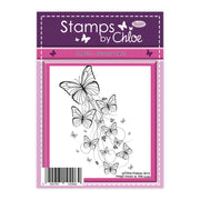 Stamps by Chloe Butterfly Swirl Clear Stamp