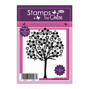 Stamps by Chloe Cherry Blossom Tree Clear Stamp