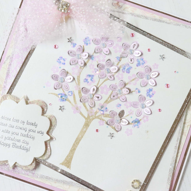 Dies by Chloe Cherry Blossom Tree Top Metal Cutting Die
