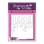 Stamps by Chloe Christmas Candy Border Clear Stamp