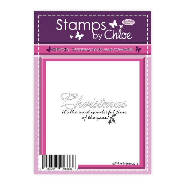 Stamps by Chloe Christmas its the most wonderful Clear Stamp