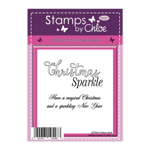 Stamps by Chloe Christmas Sparkle Clear Stamp