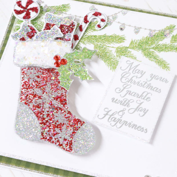 Stamps by Chloe Christmas Stocking Clear Stamp