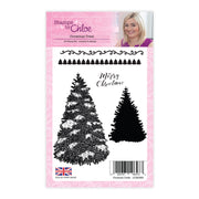 Stamps by Chloe Christmas Trees Clear Stamp