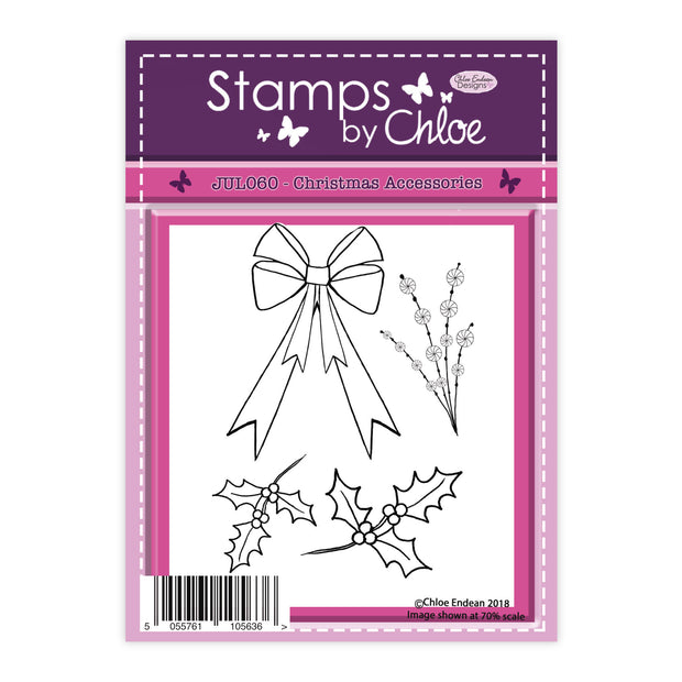 Stamps by Chloe Christmas Accessories Clear Stamp