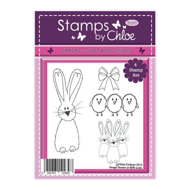 Stamps by Chloe Cute Easter Critters Clear Stamp