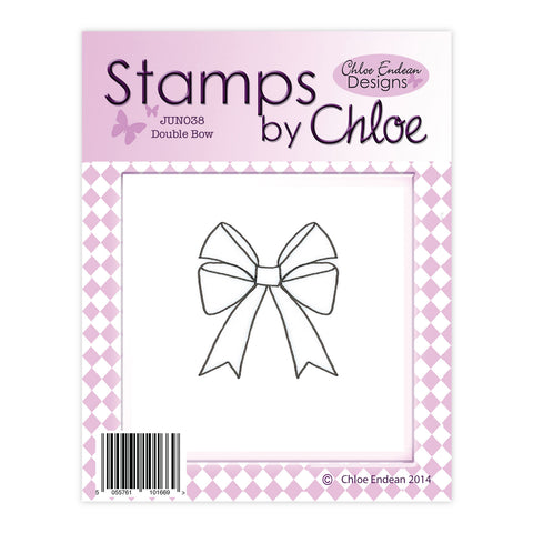 Stamps by Chloe Double Bow Clear Stamp