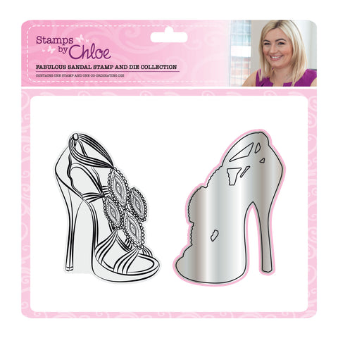 Stamps by Chloe Fabulous Sandal Stamp and Die Collection