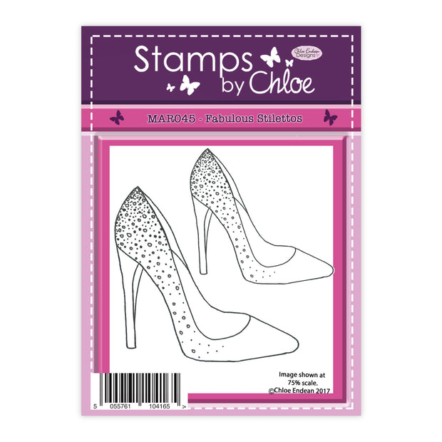 Stamps by Chloe Fabulous Stilettos Clear Stamp