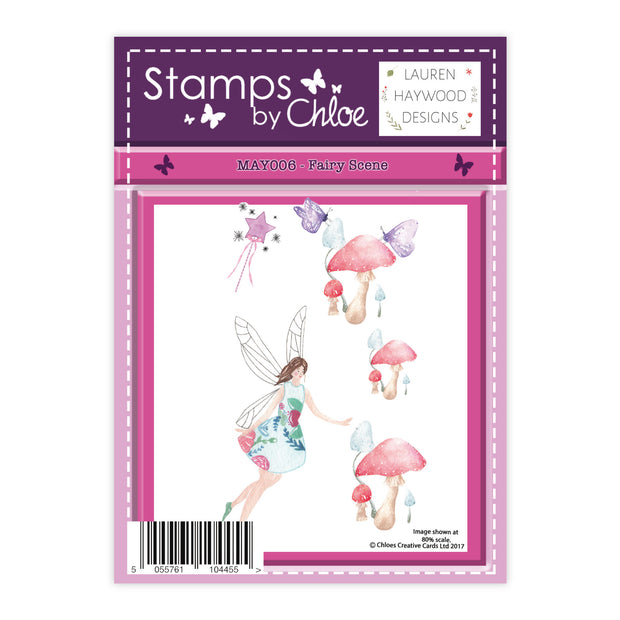 Stamps by Chloe Fairy Scene Clear Stamp