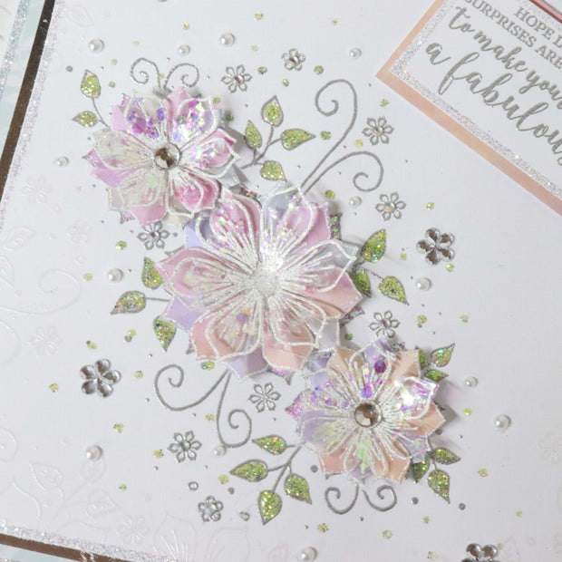 Stamps by Chloe Fantasy Flower Panel Clear Stamp