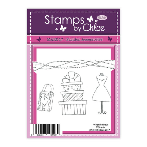 Stamps by Chloe Fashion Accessories Clear Stamp