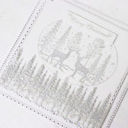 Stamps by Chloe Festive Tree Border Clear Stamp