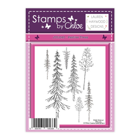 Stamps by Chloe Festive Trees