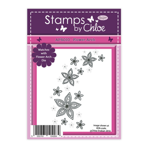 Stamps by Chloe Flower Arch Clear Stamp