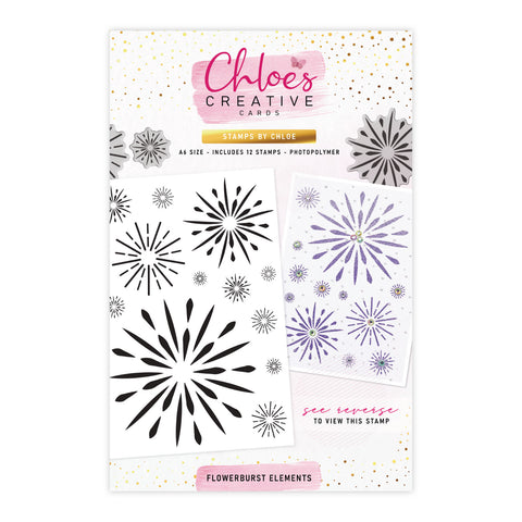 Stamps by Chloe Flowerburst Elements Clear Stamp
