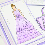 Stamps by Chloe Frilly Dress Stamp and Die Collection