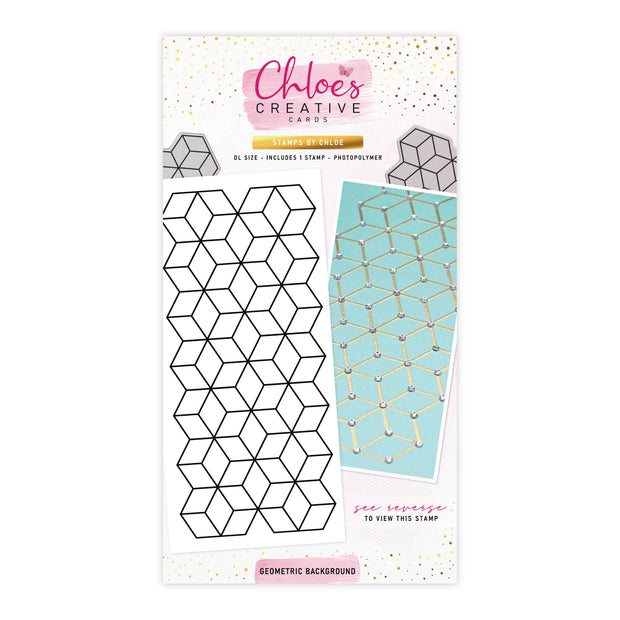 Stamps by Chloe Geometric Background Clear Stamp