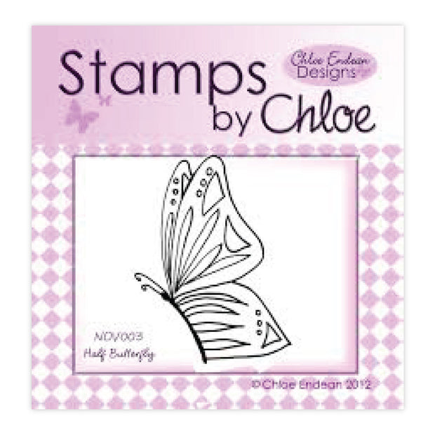 Stamps by Chloe Half Butterfly Clear Stamp