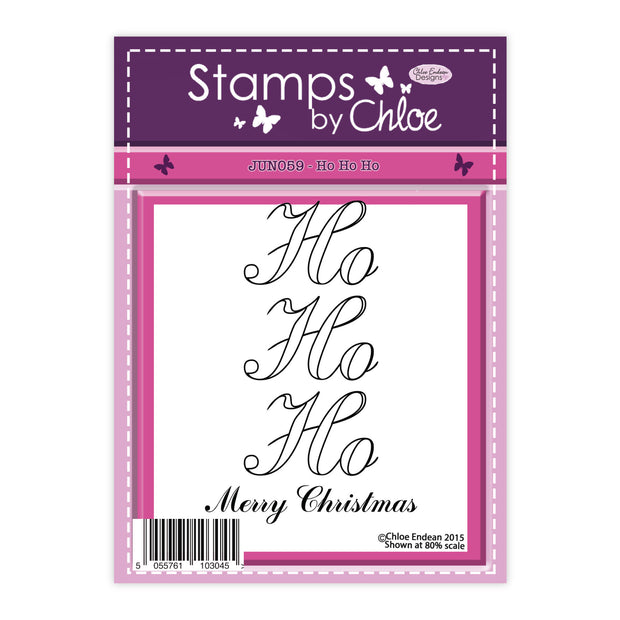 Stamps by Chloe Ho Ho Ho Clear Stamp