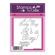 Stamps by Chloe It's a Boy Clear Stamp