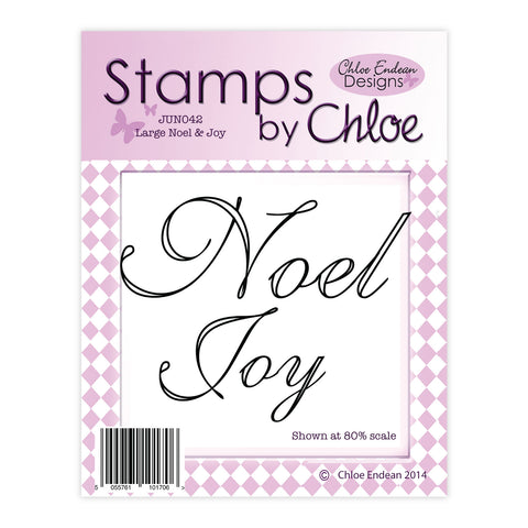 Stamps by Chloe Large Joy and Noel Clear Stamp