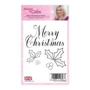 Stamps by Chloe Merry Christmas and Holly Clear Stamp