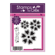 Stamps by Chloe Layered Blossom Clear Stamp