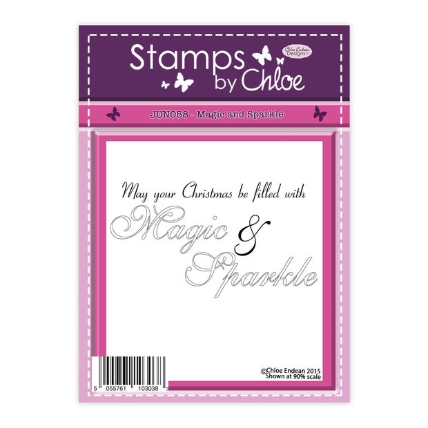 Stamps by Chloe Magic and Sparkle Clear Stamp