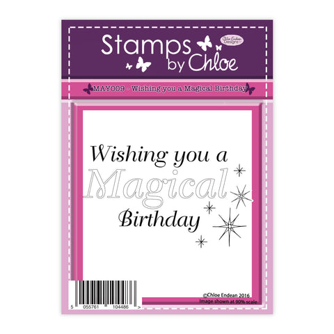 Stamps by Chloe Wishing you a Magical Birthday Clear Stamp