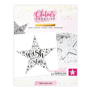 Chloes Creative Cards Photopolymer Stamp Set - Make a Wish Star