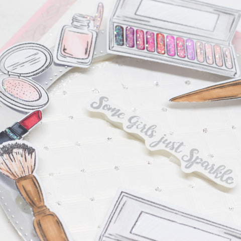 Stamps by Chloe Make Up Stamp and Die Collection