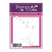 Stamps by Chloe Orchid Plant Clear Stamp