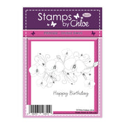 Stamps by Chloe Orchid Swirl Clear Stamp