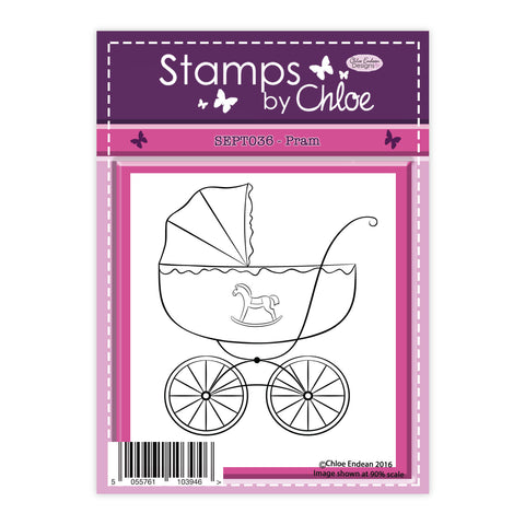 Stamps by Chloe Pram Clear Stamp