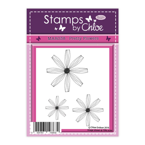 Stamps by Chloe Pretty Flowers Clear Stamp