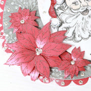 Stamps by Chloe Sketched Poinsettia Clear Stamp