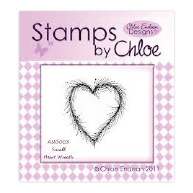 Stamps by Chloe Small Heart Wreath Clear Stamp