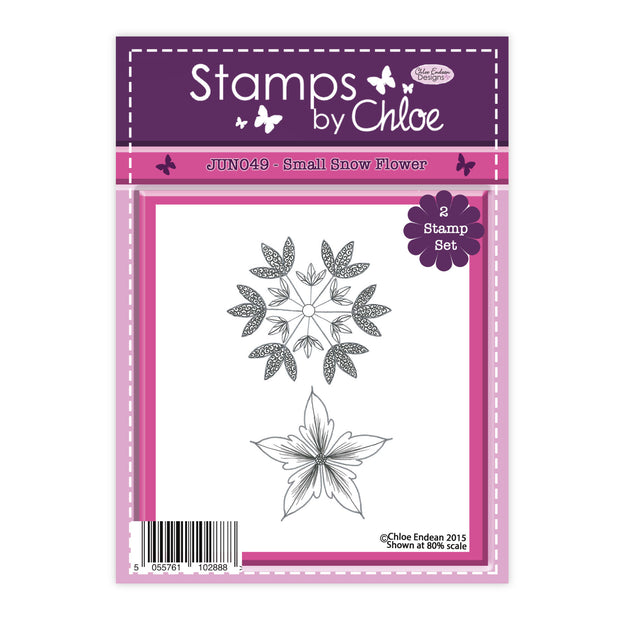 Stamps by Chloe Small Snow Flower Clear Stamp