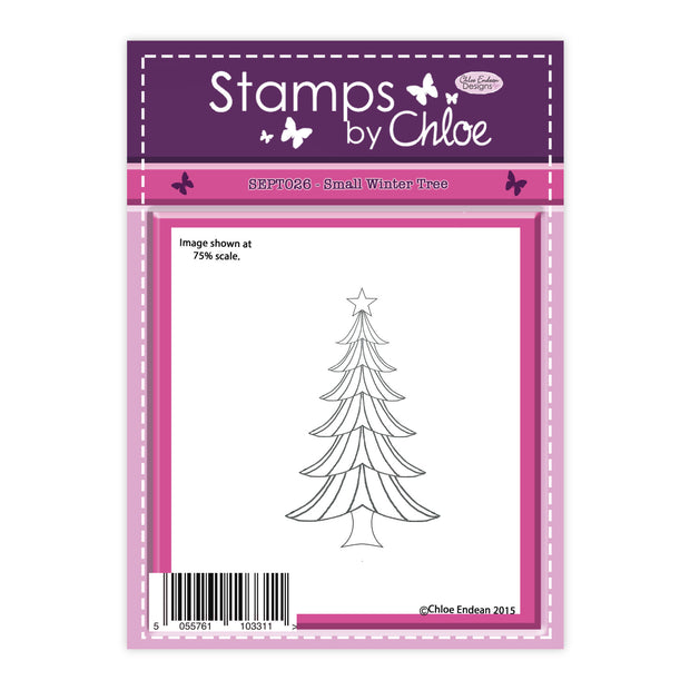 Stamps by Chloe Small Winter Tree Clear Stamp