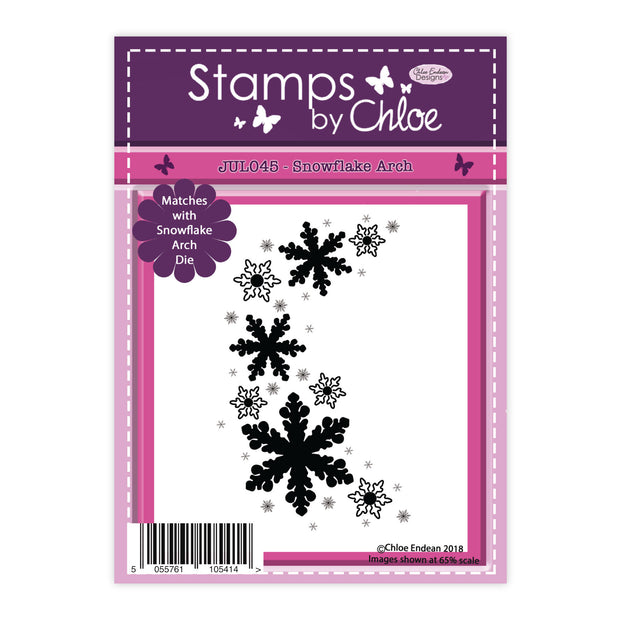 Stamps by Chloe Snowflake Arch Clear Stamp
