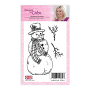 Stamps by Chloe Christmas Snowman Clear Stamp