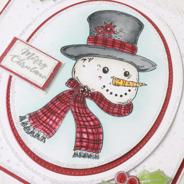 Stamps by Chloe Christmas Snowman Face Clear Stamp