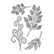 Stamps by Chloe Spring Foliage Clear Stamp