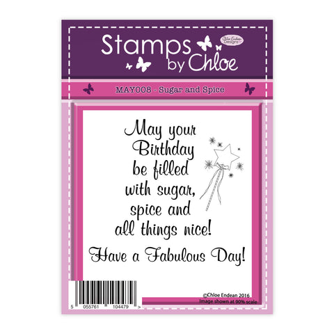 Stamps by Chloe Sugar and Spice Clear Stamp