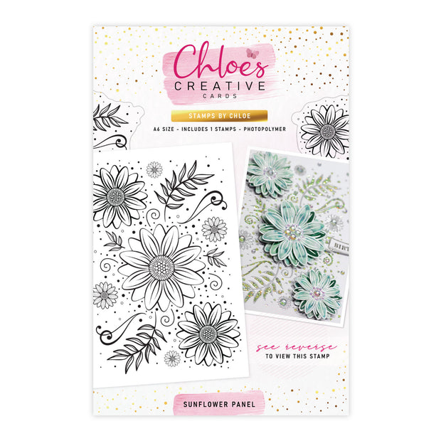 Stamps by Chloe Sunflower Panel Clear Stamp Set